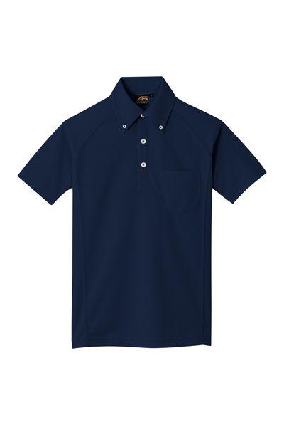 ボタンダウンポロシャツ
