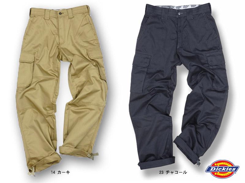 【Dickiesディッキーズ】 ダブルニー・カーゴパンツ