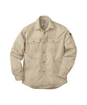 作業服の通販の【作業着デポ】【Dickiesディッキーズ】長袖ロールアップシャツ