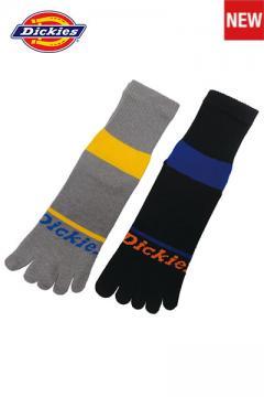 作業服の通販の【作業着デポ】【Dickies】 5本指ロークルー2P 靴下・ソックス