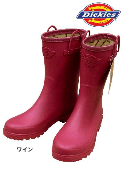【Dickiesディッキーズ】 長靴(レディース)※先芯なし※