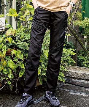 作業服の通販の【作業着デポ】ストレッチ軽量レディースカーゴパンツ(吸汗速乾)