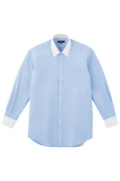 Z長袖クレリックシャツ