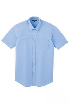 ユニフォームや制服・事務服・作業服・白衣通販の【ユニデポ】Z半袖ピンストライプシャツ