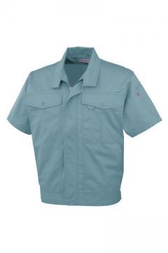 ユニフォームや制服・事務服・作業服・白衣通販の【ユニデポ】半袖ブルゾン