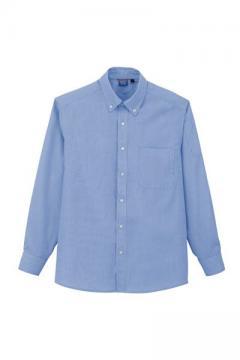 作業服の通販の【作業着デポ】ピンストライプ長袖シャツ