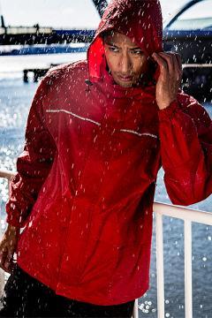 ユニフォームや制服・事務服・作業服・白衣通販の【ユニデポ】【全5色】セットアップレインスーツ上着