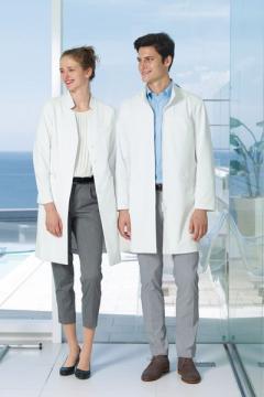 ユニフォームや制服・事務服・作業服・白衣通販の【ユニデポ】女子ドクターコート