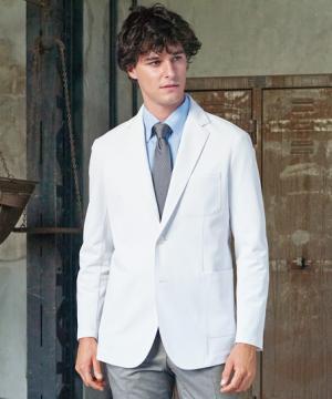 白衣や医療施設用ユニフォームの通販の【メディカルデポ】【ナガイレーベン】4D+ テーラージャケット