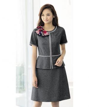 【2色】Aラインスカート(クーリッシュニット)