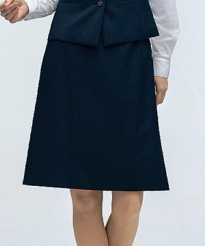 ユニフォームや制服・事務服・作業服・白衣通販の【ユニデポ】マーメイドスカート【PATRICK COX】(ヴィンテージストライプ)