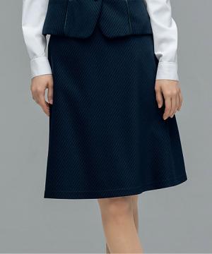 ユニフォームや制服・事務服・作業服・白衣通販の【ユニデポ】Aラインスカート(グロスニット)【PATRICK COX】