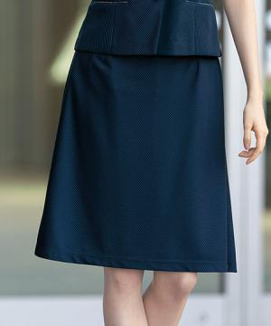 【PATRICK COX】Aラインスカート(ミニセントニット)