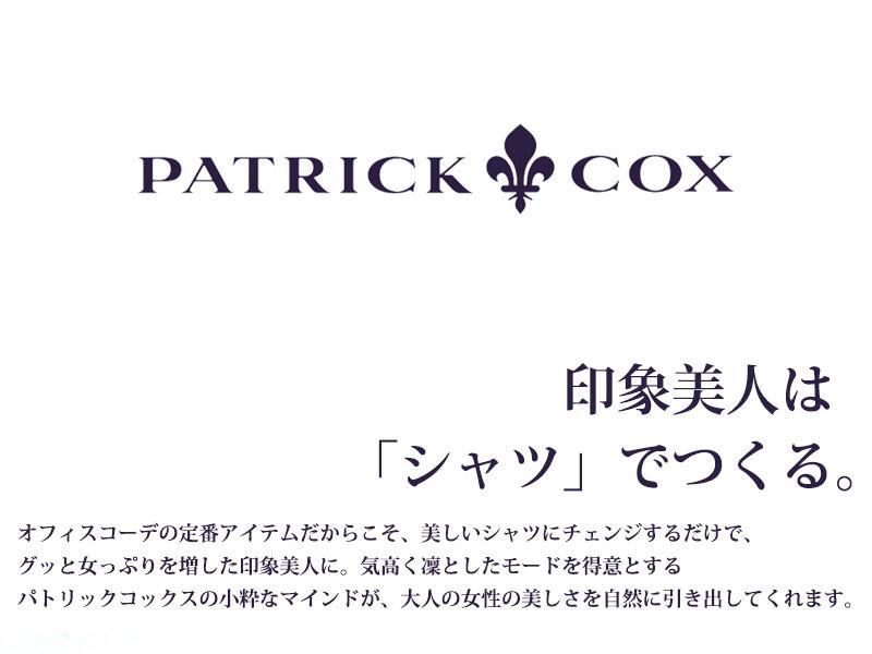 【全4色】半袖クレリックシャツブラウス【PATRICK COX】