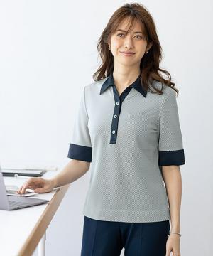 【2色】ポロシャツ(チアフルニット)