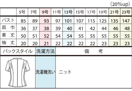 【PATRICK COX】オーバーブラウス(ミニセントニット) サイズ詳細
