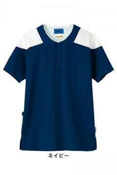 【全4色】ポロシャツ(後ろ襟なし・男女兼用)●リラックマ●