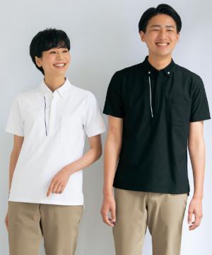 【全4色】抗ウイルス加工ポロシャツ(男女兼用/抗菌消臭/吸汗速乾)