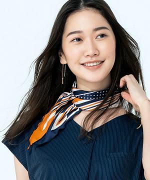 【4色】スカーフ(38cm×120cm)
