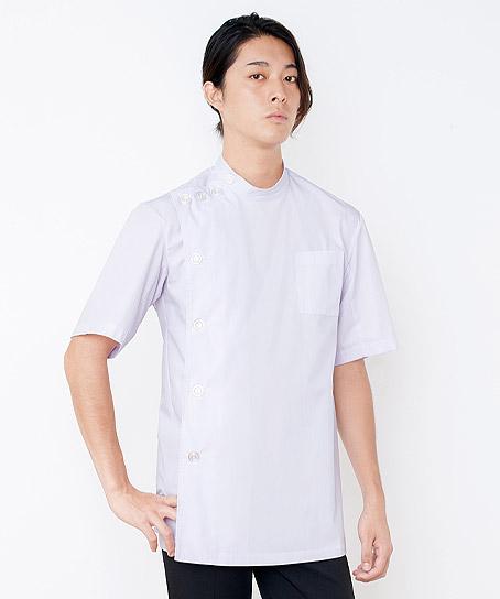エステ・美容サロン用メンズハーフコート 白衣