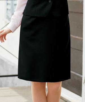 ユニフォームや制服・事務服・作業服・白衣通販の【ユニデポ】【全2色】美形Aラインスカート(バリューコレクション)