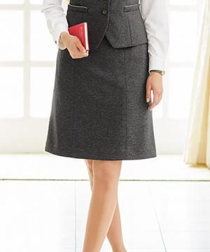 エステサロンやリラクゼーションサロン用ユニフォームの通販の【エステデポ】【4色】新・美形セミフレアスカート(Lady KNIT)