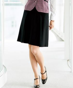 【2色】美形スカート:タック(シャドーチドリ)