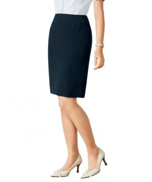 事務服用ユニフォームの通販の【事務服デポ】【2色】 美形スカート(タイト)
