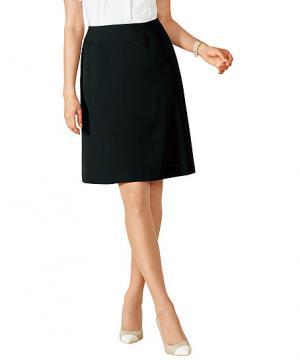 ユニフォームや制服・事務服・作業服・白衣通販の【ユニデポ】【2色】美形スカート(Aライン)