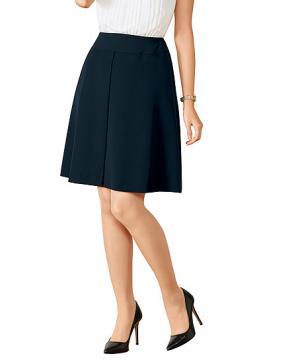 事務服用ユニフォームの通販の【事務服デポ】【2色】美形スカート(フレアプリーツ)