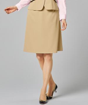 事務服用ユニフォームの通販の【事務服デポ】【COLOR SELECT +】美形Aラインスカート