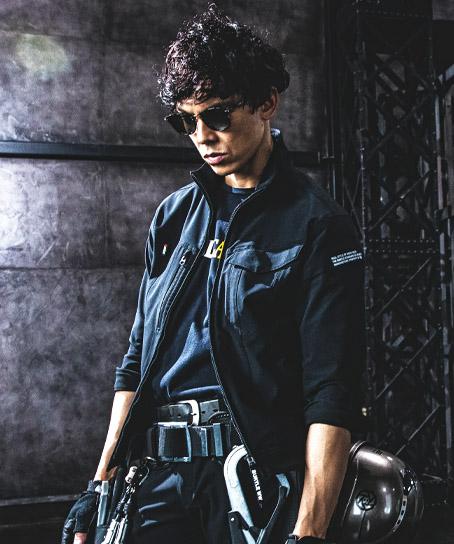 【予約商品】バートル クレイジーストレッチジャケット(通年・男女兼用・帯電防止)