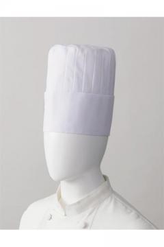 コックコート・フード・飲食店制服・ユニフォームの通販の【レストランデポ】コック帽(山丈20㎝)