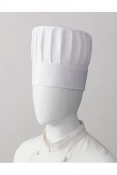 コックコート・フード・飲食店制服・ユニフォームの通販の【レストランデポ】コック帽(カツラギ/山丈20㎝)