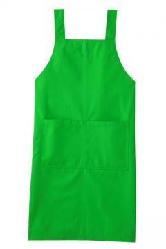 コックコート・フード・飲食店制服・ユニフォームの通販の【レストランデポ】エプロン(グリーン)