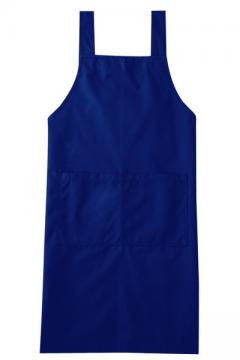 作業服の通販の【作業着デポ】エプロン(ブルー)