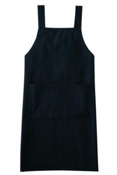 作業服の通販の【作業着デポ】エプロン(ブラック)