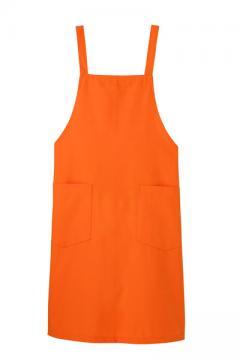 コックコート・フード・飲食店制服・ユニフォームの通販の【レストランデポ】エプロン(オレンジ)