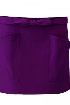 コックコート・フード・飲食店制服・ユニフォームの通販の【レストランデポ】【全7色】前掛け(丈30cm)