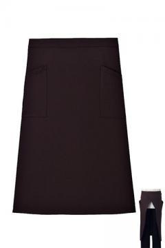 作業服の通販の【作業着デポ】【7色】アンクル加工ソムリエエプロン(丈75cm)