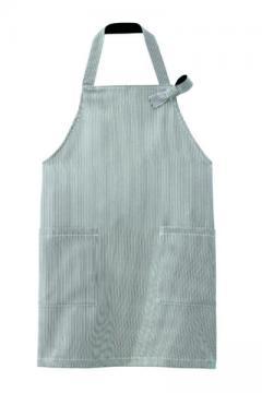 コックコート・フード・飲食店制服・ユニフォームの通販の【レストランデポ】エプロン(黒)