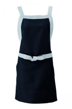 ユニフォームや制服・事務服・作業服・白衣通販の【ユニデポ】【全3色】エプロン(脱色防止加工)