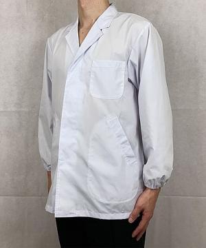 抗菌男性用長袖調理衣