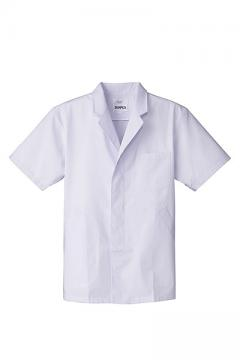 コックコート・フード・飲食店制服・ユニフォームの通販の【レストランデポ】抗菌男性用半袖調理衣
