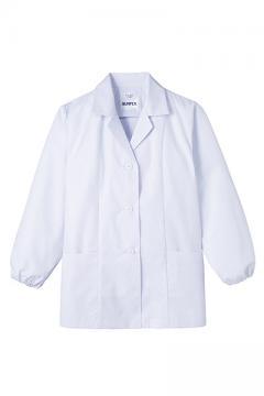 抗菌女性用長袖調理衣