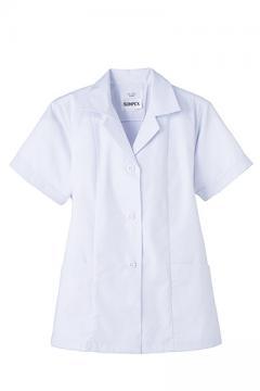抗菌女性用半袖調理衣