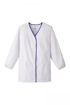 女性用デザイン白衣 長袖