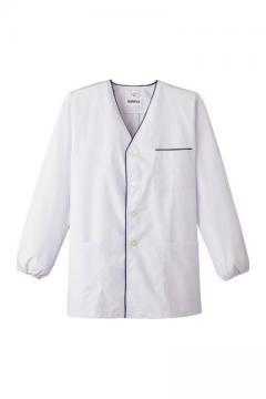 コックコート・フード・飲食店制服・ユニフォームの通販の【レストランデポ】男性用デザイン白衣 長袖