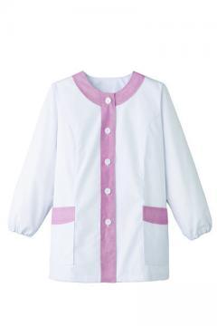コックコート・フード・飲食店制服・ユニフォームの通販の【レストランデポ】女性用デザイン白衣 長袖