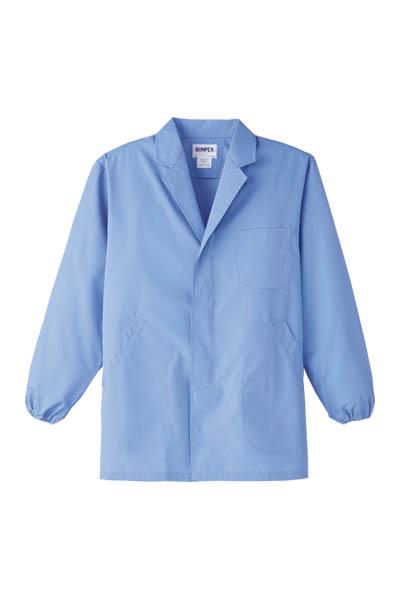 男性用長袖調理衣(抗菌加工)